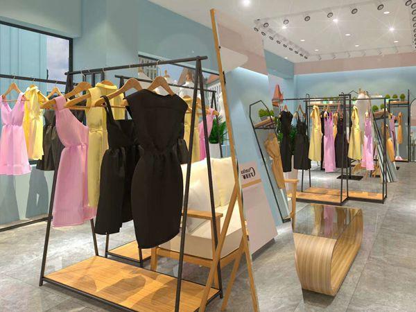 古米娜女装店铺展示