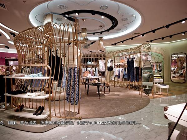 欧时力女装店铺展示
